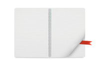 Spiral Notebook with reminder