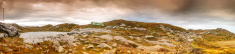Panoramic views from the summit trail Floyen to Ulriken.