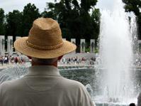Veteran at the Memorial