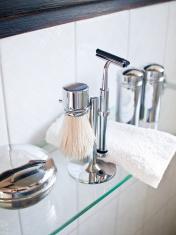 Stainless steel razor shaving set -05