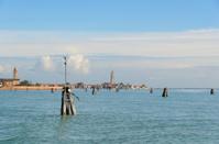 Burano  Island in the Venetian Lagoon