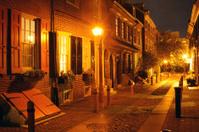 Elfreth's Alley at Night