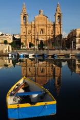 Msida creek, Maltese Islands.