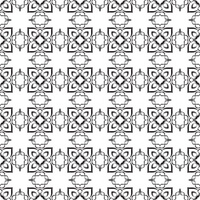 Black ribbon pattern