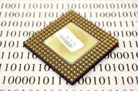 Microprocessor and binary code