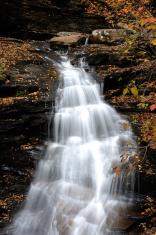 Waterfalls in Ricketts Glen State Park