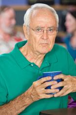 Sulky Older Man