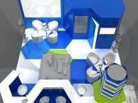 Exhibition Stand Interior Sample - Interiors Series  . 3D