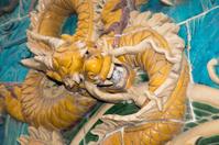 Dragon sculpture. Beijing, China
