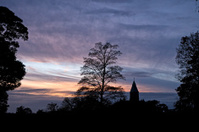 Citadel Silhouette Sunset