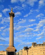 Lord Nelson on Trafalgar Square