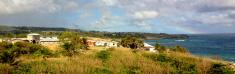 Panoramic of Bottom Bay