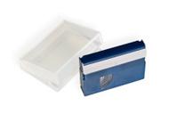 Mini DV video cassette with case