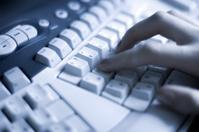 Working on keyboard