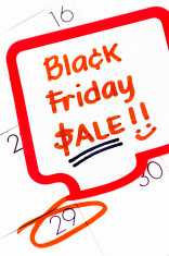 Black Friday Sales Reminder