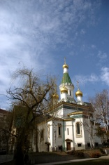 russian church st nikolay in sofia
