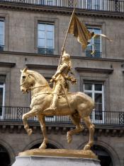Paris - Joan of Arc statue near the Louvre