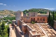 Alcazaba, Granada, Spain.