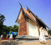 Sala Loi temple in Korat