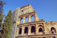 Rome coloseum in italy.