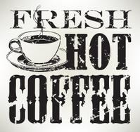 Fresh Hot Coffee - Morning Drink