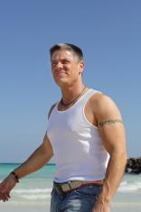 Muscular Man Outside
