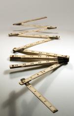 Vintage Folding Carpenter's Ruler