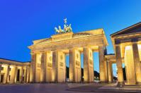 Brandenburg gate of Berlin