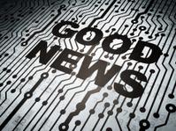 Circuit board with Good News