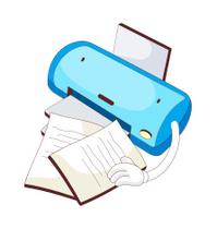 view of printer