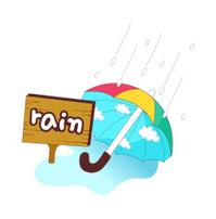 view of umbrella
