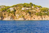 Costa Brava Cliffs in Catalonia, Spain