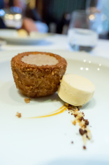 Dessert in 5 star restaurant