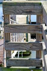 Wooden Landing for Metal Gangplank