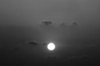 cloudy sunrise (sunset)