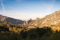 Serra de Tramuntana on Mallorca island