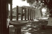 Triangular Forum  in Pompeii