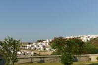 summer houses at gulluk town of bodrum mugla turkey