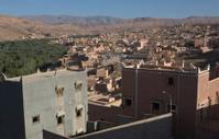 Tinerhir village near Georges Todra at Morocco