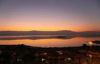 Sunrise at the Dead Sea