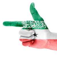 Somaliland Flag On Shooting Hand