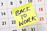 Back To Work Reminder