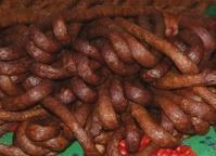 smoked,pork meat sausages