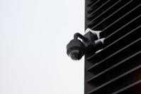 High tech overhead security camera