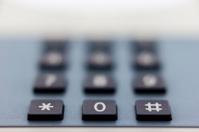 Telephone keyboard