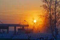 Winter sundowns and rises