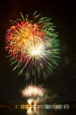Beautiful fireworks.