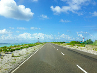 road on Maldives