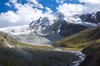 Wonderful Tien Shan mountains