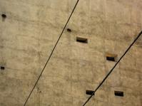 grunge wall with windows
